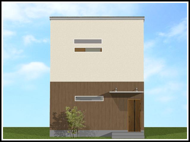 無駄のないボックス設計の3LDK 30坪 / 参考価格1,140万円~