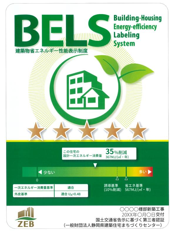 BELS(住宅性能表示)